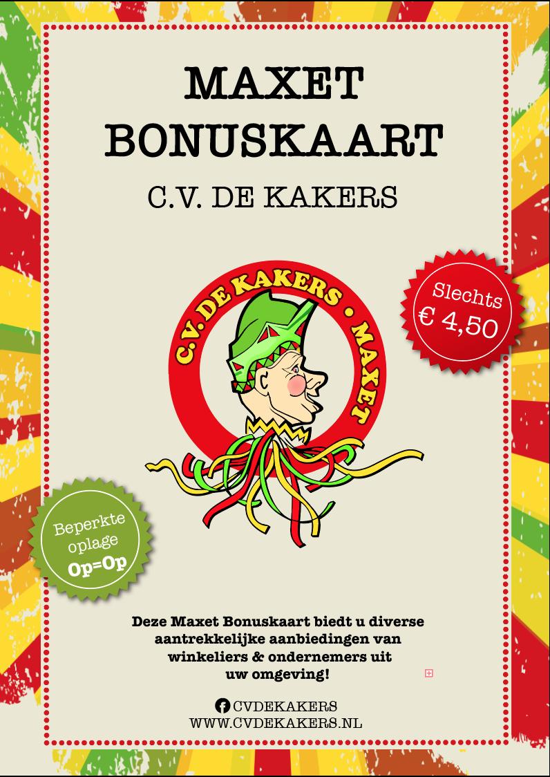 Maxet Bonuskaart