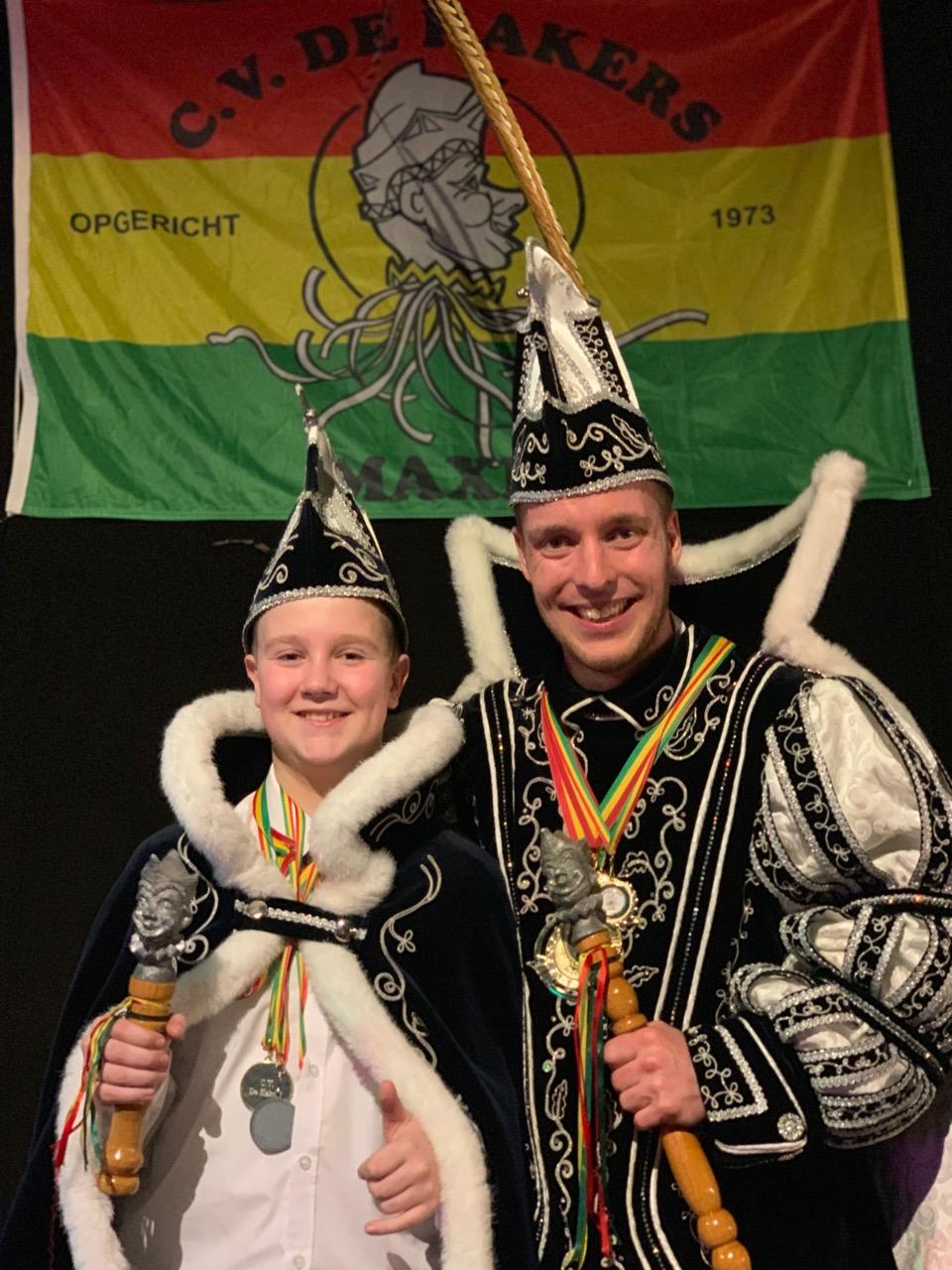 Jeugdprins Timo I & Prins Jeroen I