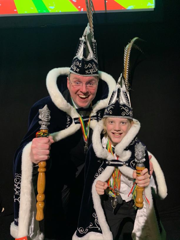 Prins Johan II & Jeugdprins Siem I